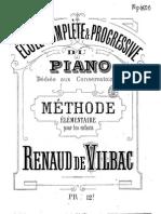 RdVilbac Cole Compl Te Et Progressive Du Piano m Thode l Mentaire[1]