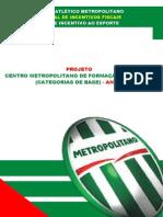 Projeto Patrocinio Futebol Base