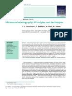 Ultrasound elastography