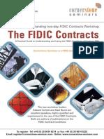 Cornerstone Seminars Fidic Contracts