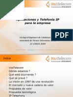 Aplicaciones y Telefonia IP Para La Emrpesa (ATI Apr04)