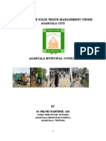 Case Study on Solid Waste Management Under Agaratla City