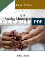 173 Seeking Meaning to Rituals
