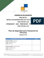 Plan de Transportes