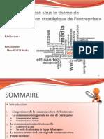 Communication Stratégique (Last Version) Finaaal