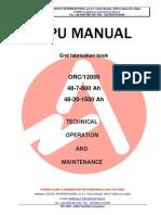 HPU manual 48-7-600 & 48-20-1550