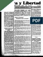 Periodico Solidaridad obrera19360729