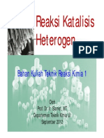 Bhn Kuliah TRK1 Kinetika Katalis Heterogen 1