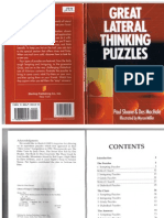 Great Lateral Thinking Puzzles