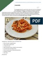 Blog.giallozafferano.it-pasta Speck Rucola e Nocciole