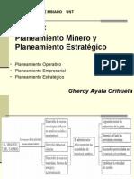 Planeamiento Minero y  Estrategico