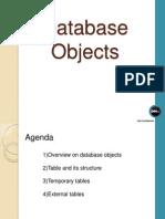 Database Objects 1