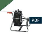 Diseño Para Portacarretes Para Tendido de Cables