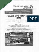 Harvard Referencing 1