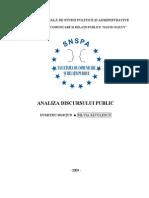 AnaLiza DiscursUlui Public