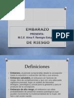 =)EMBARAZO DE RIESGO