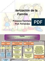 Caracterizacion de La Familia. CLASE 1
