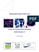 Airport Code of Construction Practice Edinburgh
