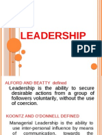Alford and Beatty Defined