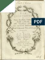 Bach, Johann Christian - 6 Quintets Op.11 (Ms. Ed.)