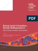 Energy (and) Colonialism, Energy (in) Dependence