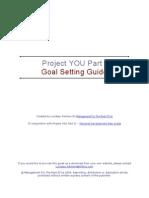 Goal Setting Guide 141