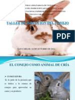 Charla de La Crianza de Conejos