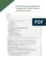 Plan de Gestión de Riesgos y Adaptación Al Cambio Climático Sector Agrario 2012-2021(1)