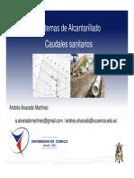 5. Proyecto de Sistema de Alcantarillado - 3 - Caudales Sanitarios