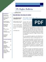 CCPL Rights Bulletin Vol1 Issue1