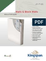 Kingspan Insulation Concrete Wall Application