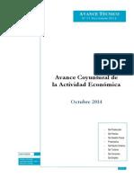 Avance Coyuntural Octubre 2014
