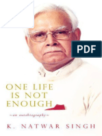 One Life Is Not Enough Pdf