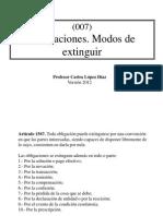 (007) Obligaciones (3) Modos de Extinguir[1]