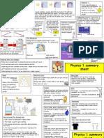 physics 1 summary zs