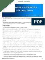 Reglamento de Sala __ Tecnología E Informática