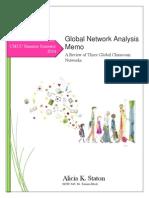 Alicia K Staton Global Analysis Network Memo 2014 EDTC645 (1)