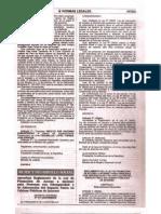 Decreto Supremo No 013-2009-MIMDES