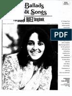 Joan Baez - British Ballads & Folk Songs 1967