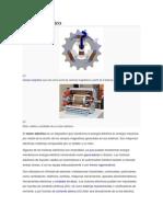 Motor Eléctrico y Diesel -Clasificacion, partes