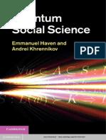 Haven, Quantum Social Science