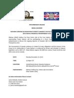 Media Advisory - Press Conference - Opposing C27 Nov 10-14 Saskatoon_1