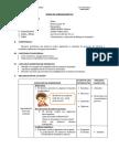 SESIÓN DE APRENDIZAJE N°60  POTENCIACIÓN Y RADICACIÓN DE NÚMEROS DECIMALES