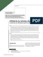 método diagnósticos para helicobacter pilory en pediatría