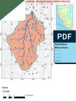 Mapa de La Orden de Rios de La Microcuenca Chillico Expo