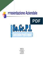 Presentazione Aziendale So.ge.p.i.