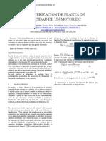 caracterizacion dinamica de un motor dc