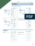 Unit 3 Multiplication Division-Number Sentences Algebra