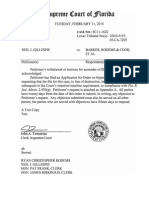 Order SC11-1622 February 11,2014