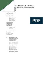 Cantecele Pentru Serbare